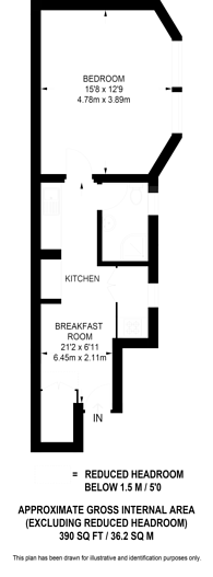 Large floorplan for Collingham Road, Earls Court, SW5