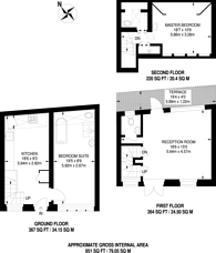 Large floorplan for Ovington Mews, Knightsbridge, SW3
