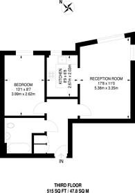 Large floorplan for Callender Court, Croydon, CR0