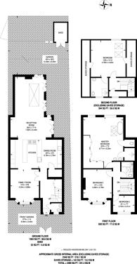 Large floorplan for Vine Road, Barnes, SW13