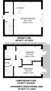 Large floorplan for Paton Street, Clerkenwell, EC1V
