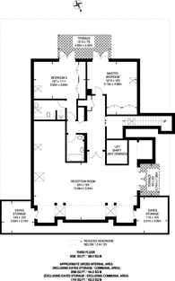 Large floorplan for Pumping Station Road, Corney Reach, W4