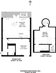 Large floorplan for Independents Road, Blackheath, SE3