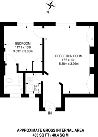 Large floorplan for Hyde Park Place, Hyde Park Estate, W2