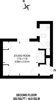 Large floorplan for Pembridge Square, Notting Hill, W2