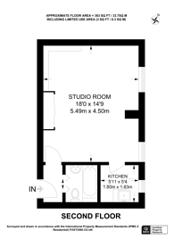 Large floorplan for Chelsea Manor Street, Chelsea, SW3