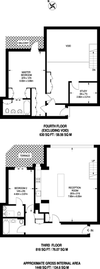Large floorplan for Dean Street, Soho, W1D