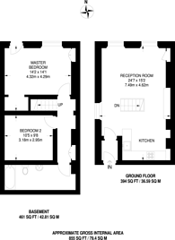 Large floorplan for Commercial Road, Whitechapel, E1