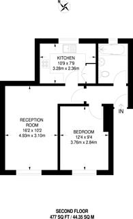 Large floorplan for Stevenson Close, Barnet, EN5
