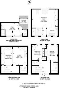 Large floorplan for Addison Place, Holland Park, W11