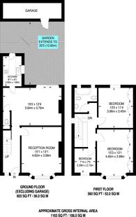 Large floorplan for Court Way, Acton, W3