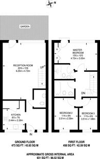 Large floorplan for Naylor Building, Adler Street, Aldgate, E1