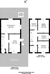 Large floorplan for Drovers Place, Peckham, SE15