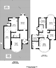 Large floorplan for Dobree Avenue, Willesden Green, NW10