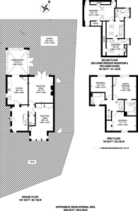 Large floorplan for Limekiln Place, Crystal Palace, SE19