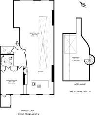 Large floorplan for Mallow Street, Clerkenwell, EC1Y