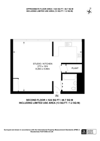 Large floorplan for The Panoramic, SW1V, Westminster, SW1V