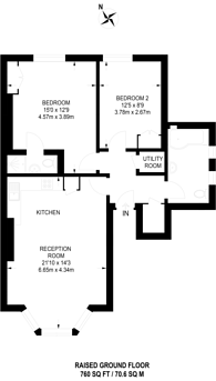 Large floorplan for Christchurch Hill, Hampstead, NW3