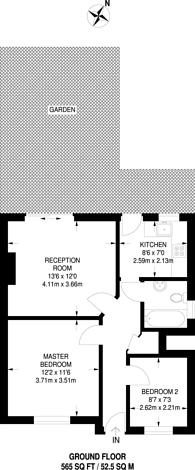 Large floorplan for Alandale Drive, Pinner, HA5