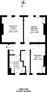 Large floorplan for Causton Street, Westminster, SW1P