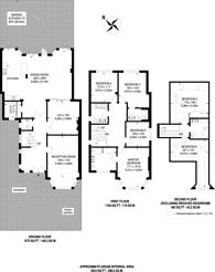 Large floorplan for Mount Pleasant Road, Brondesbury, NW10