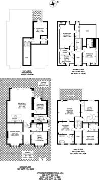 Large floorplan for Kingston Hill, Coombe, KT2