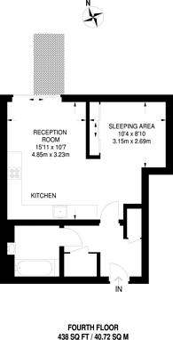 Large floorplan for Avant-Garde Place, Shoreditch, E1