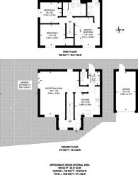 Large floorplan for Teviot Close, Stoughton, GU2