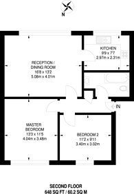 Large floorplan for Dell Farm Road, Ruislip, HA4