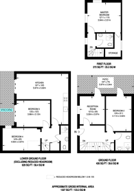 Large floorplan for Islington Park Street, Islington, N1