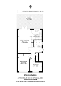 Large floorplan for Cumberland Road, Bromley, BR2