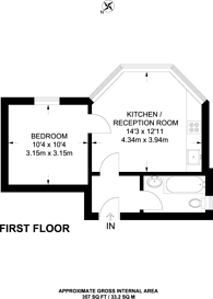 Large floorplan for South Bank Terrace, Surbiton, KT6