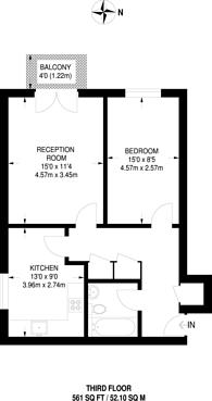 Large floorplan for Winders Road, Battersea, SW11