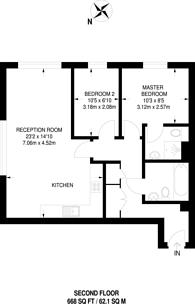 Large floorplan for Pollard Road, Morden, SM4