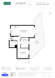 Large floorplan for Lawson Close, Beckton, E16