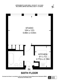 Large floorplan for Abbey Orchard Street, Victoria, SW1P