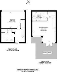 Large floorplan for Strype Street, Shoreditch, E1