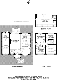 Large floorplan for Brabourne Rise, Park Langley, BR3