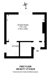 Large floorplan for Welldon Crescent, Harrow, HA1