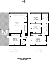 Large floorplan for Legion Close, Islington, N1