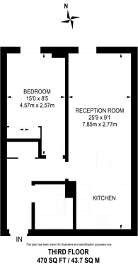 Large floorplan for Mackintosh Street, Bromley, BR2