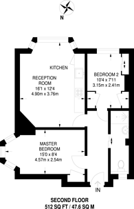 Large floorplan for Wolverton Avenue, Kingston, KT2