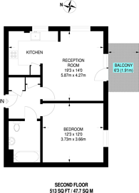 Large floorplan for Walton Road, Manor Park, E12