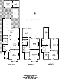 Large floorplan for Birch Grove, Ealing Common, W3