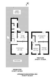 Large floorplan for Prince Henry Road, Charlton, SE7