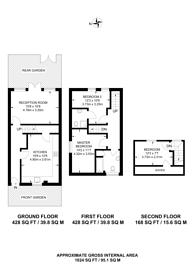 Large floorplan for Renfrew Close, Beckton, E6