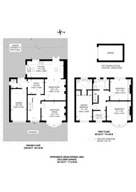 Large floorplan for Clarence Road, Bickley, BR1