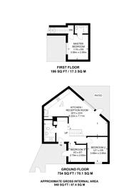 Large floorplan for Church Walk, Stoke Newington, N16