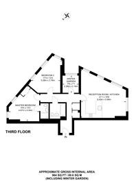 Large floorplan for Zenith Close, Colindale, NW9