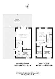 Large floorplan for Garford Street, Isle Of Dogs, E14